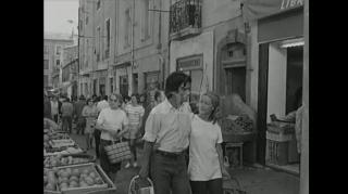 Sur le tournage de César et Rosalie de Claude Sautet (1972)