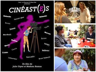 Julie Gayet avec Nicole Garcia, Rébecca Zlotowski, Agnès Varda