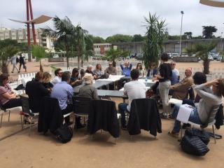 Rencontre professionnelle au marché du film Sunny Side of the doc, La Rochelle, juin 2016
