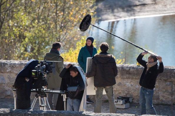 Photo de tournage de la série Tandem, saison 2. © Fabien Malot