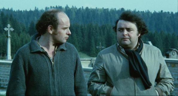 Jean-François Stévenin et Jacques Villeret dans Passe Montagne