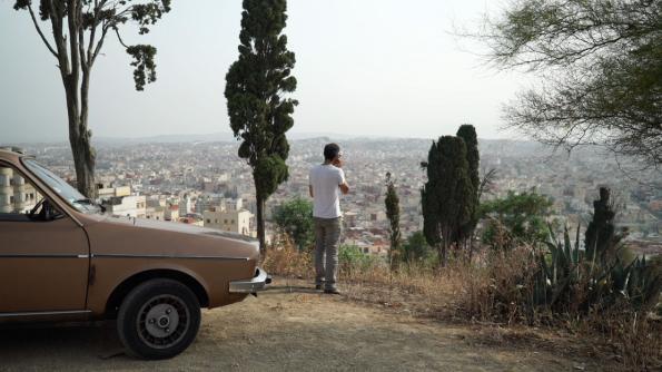 Renault 12 de Mohamed El Khatib. © Collectif Zirlib