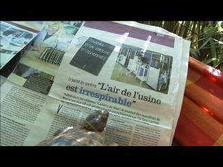 Journal titrant : L'air de l'usine est irrespirable