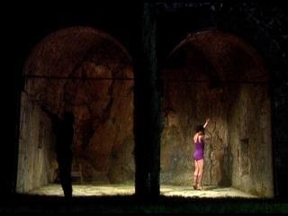 Une danseuse sur scène