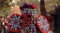 Bamoun camerounais lors d'une cérémonie rituelle
