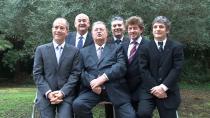 Georges Frêche et ses collaborateurs les plus proches lors de sa dernière campagne pour la présidence de la région Languedoc-Roussillon