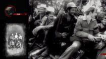 Photo en noir et blanc de résistants cubains en 1956